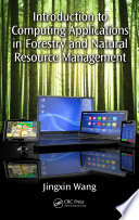 Introduction to Computing Applications in Forestry and Natural Resource Management Book