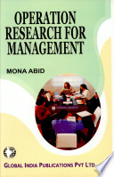 Operation Research For Management