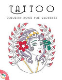 Tattoo Coloring Book for Grownups