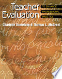 Teacher Evaluation to Enhance Professional Practice Book