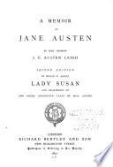A Memoir of Jane Austen Book