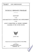 Hearings and Reports on Atomic Energy Book