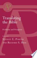 Translating the Bible Book PDF