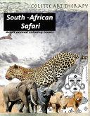 Adult Animal Coloring Books South African SAFARI