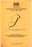 Gaborone Urban Development Plan 2 Book
