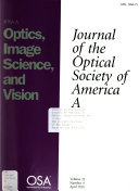 Journal of the Optical Society of America