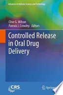 Controlled Release in Oral Drug Delivery Book