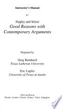 Good Reason with Contemporary Arguments