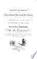 Beknopte beschrijving van de Nederlandsche overzeesche bezittingen