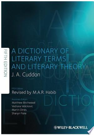 Free Download A Dictionary of Literary Terms and Literary Theory PDF - Writers Club