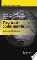 Progress in Spatial Analysis