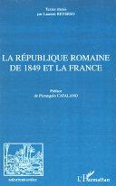 Pdf La République romaine de 1849 et la France Telecharger