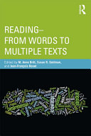 Reading  from Words to Multiple Texts