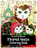 Creative Haven Floral Cats Coloring Book