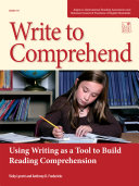 Write to Comprehend