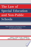 The Law of Special Education and Non Public Schools