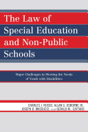 Pdf The Law of Special Education and Non-Public Schools Telecharger