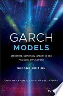 GARCH Models Book