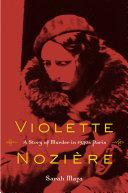 Violette Nozi  re