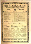 The Bookseller  Newsdealer and Stationer