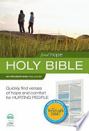 Find Hope  NIV VerseLight Bible Book