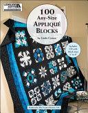 100 Any-Size Applique Blocks
