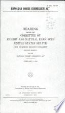Hawaiian Homes Commission Act