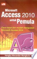 Microsoft Access 2010 untuk Pemula