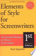 Elements of Style for Screen Writers