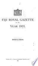 Fiji Royal Gazette