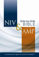 Niv and Amplified Side-by-Side Bible ebook