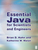 Pdf Essential Java for Scientists and Engineers Telecharger