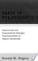 Heats of Hydrogenation