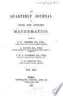 Quarterly Journal of Pure and Applied Mathematics