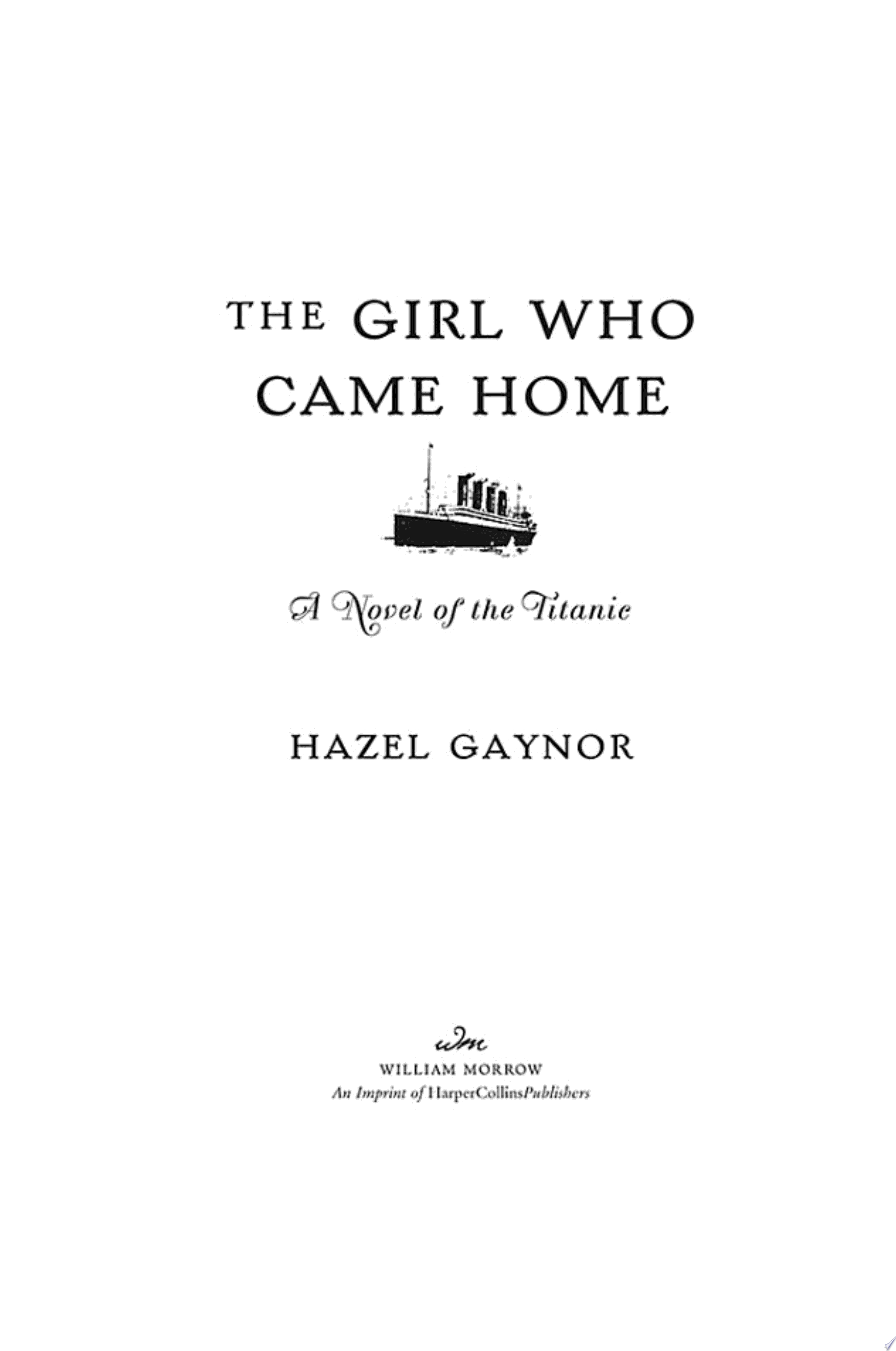 The Girl Who Came Home
