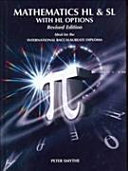 Cover of Mathematics HL & SL with H/L Options