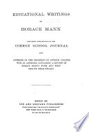 Life and Works of Horace Mann Book