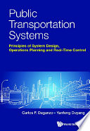Public Transportation Systems  Principles Of System Design  Operations Planning And Real time Control