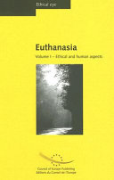 Euthanasia  Ethical and human aspects