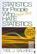 Statistics for People Who  Think They  Hate Statistics 3rd W SPSS   Statistics for People Who  Think They  Hate Statistics  2nd Excel 2007 Edition
