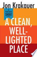 A Clean  Well Lighted Place Book PDF