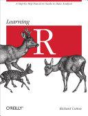 Learning R Pdf/ePub eBook