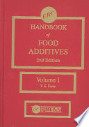 """CRC Handbook of Food Additives, Second Edition"" by Thomas E. Furia"