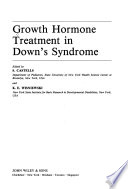 Growth Hormone Treatment in Down's Syndrome