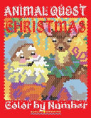 Christmas Animal Quest Color by Number