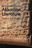 Pdf An Introduction to Akkadian Literature