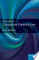 Principles of Corporate Finance Law Book