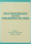 Folk Psychology and the Philosophy of Mind