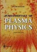Fundamentals of Plasma Physics Pdf/ePub eBook