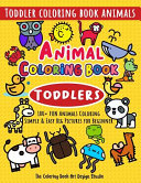 Animal Coloring Book for Toddlers